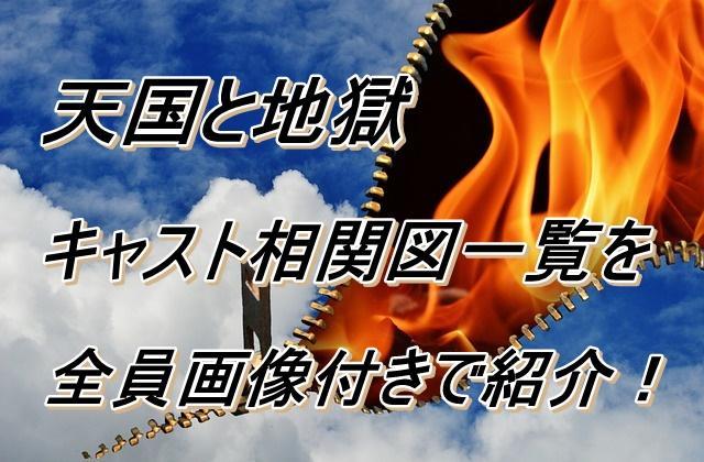 天国と地獄 キャスト 相関図
